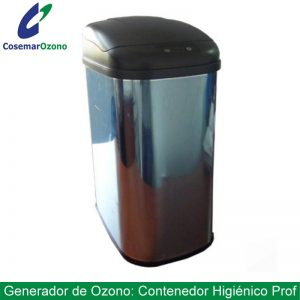 Contenedor de ozono profesional, biosanitario