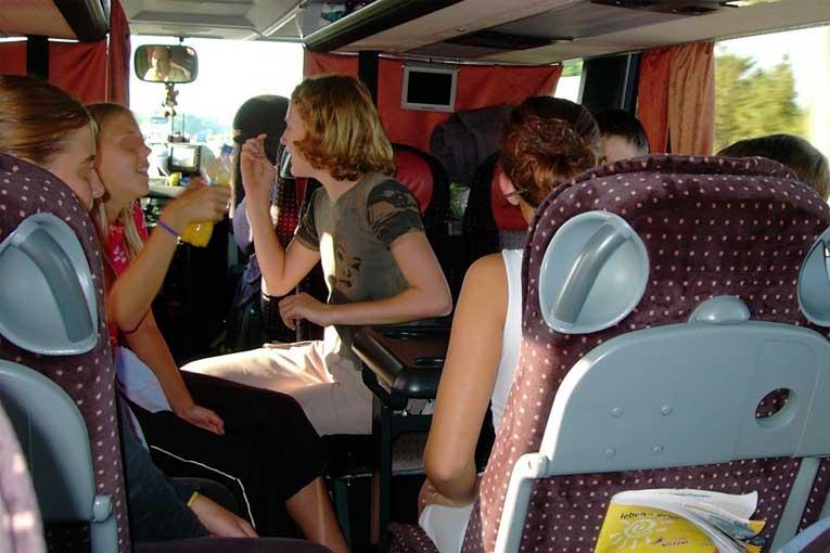 Desinfección de vehículos de transporte de personas con ozono