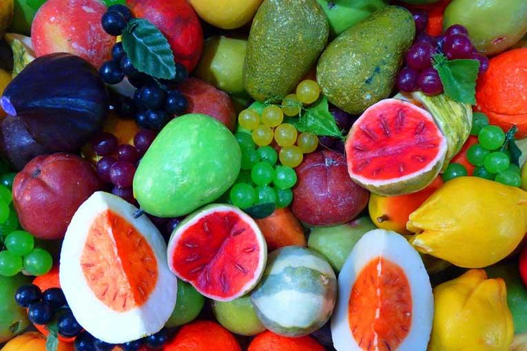 ozonización de distintos tipos de frutas