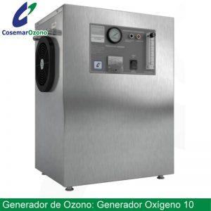 GEnerador de Oxígeno 10, concentrador de oxígeno