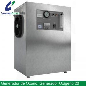 Generador de oxigeno o concentrador de oxígeno 20