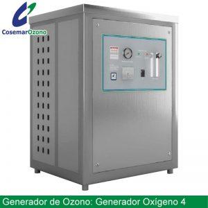 Generador de oxígeno 4 o concentrador de oxigeno