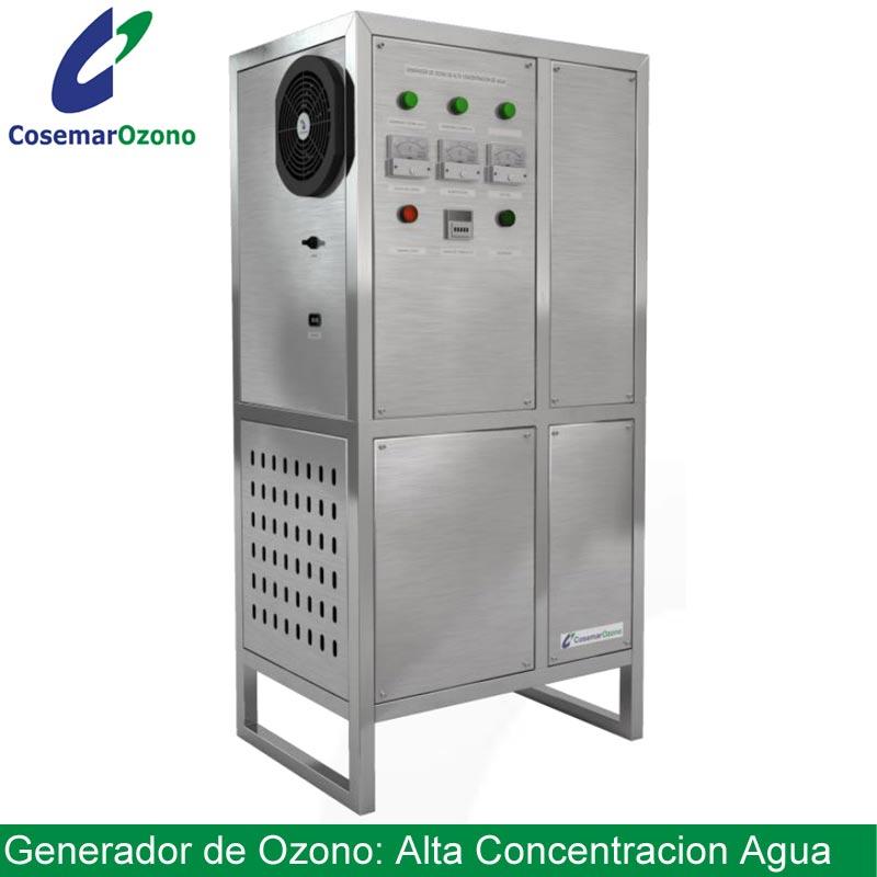 generador ozono industrial alta concentracion agua