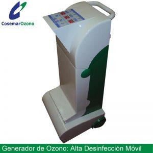 generador ozono movil alta desinfeccion