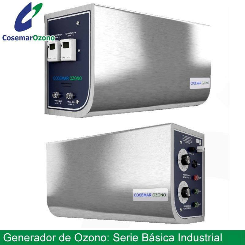 generador de ozono serie basica industrial