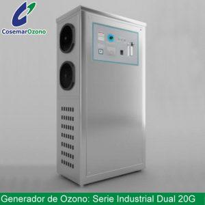 generador ozono serie industrial dual 20g