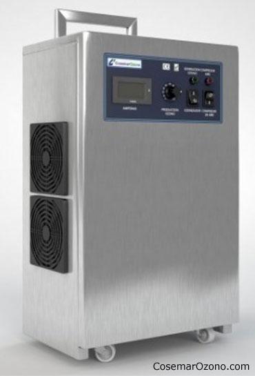 generadores de ozono portatiles cosemar ozono