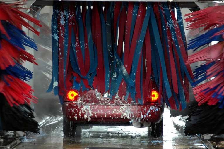 Lavado de coches y otros vehículos con ozono