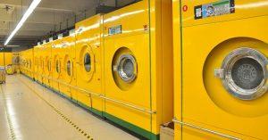 ¿cómo desinfectar lavanderías industriales?