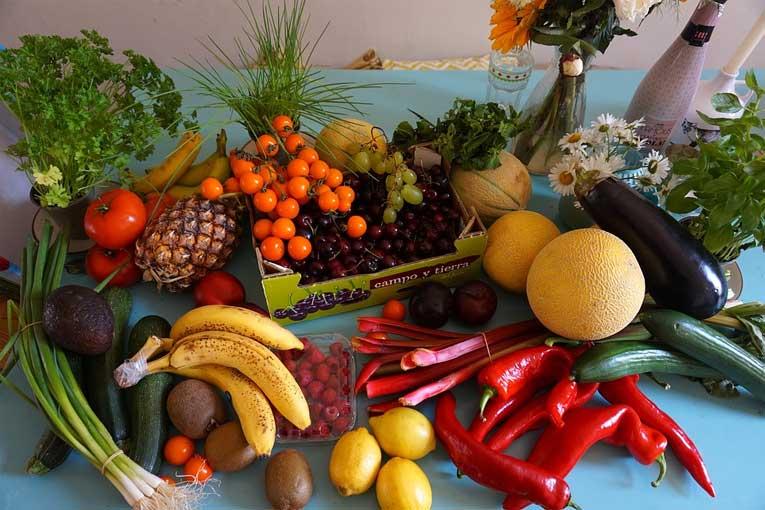 Desinfección en la producción y consumo de frutas y verduras