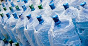 Desinfección de fábricas embotelladoras de auga