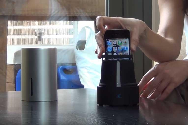 esterilizador de teléfonos móviles