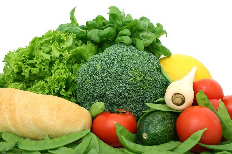 ozono en los vegetales