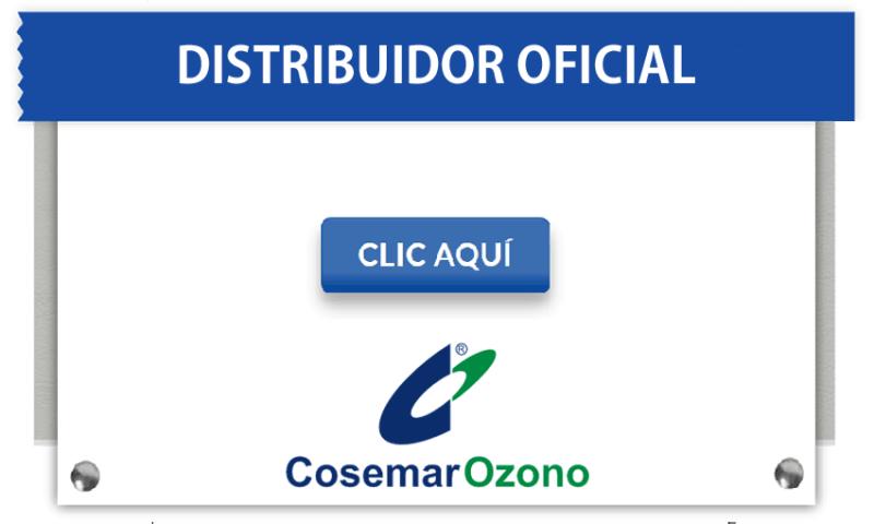 Distribuidor Oficial de Cosemar Ozono