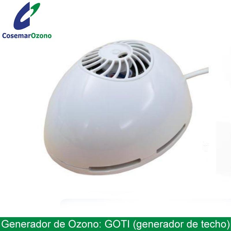 Generador de Ozono de techo, Goti