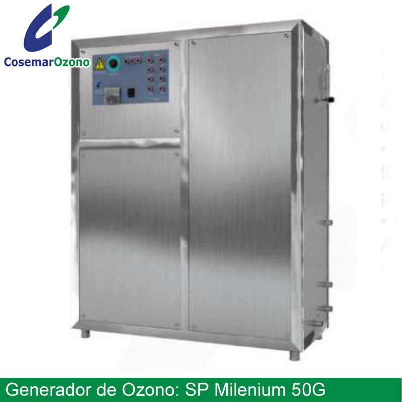 ozonizador, generador ozono industrial sp milenium 50g