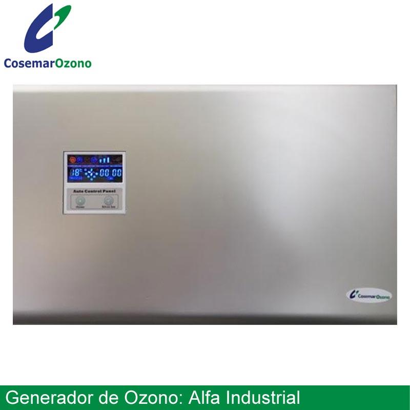 generador ozono alfa industrial - generadores de ozono industriales de Cosemar Ozono