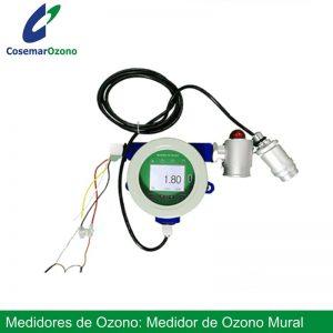 Medidor de ozono mural