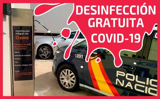 servicio desinfeccion gratuito coronavirus covid-19