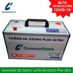 Cañón de Ozono Plus Ultra - Generador de ozono