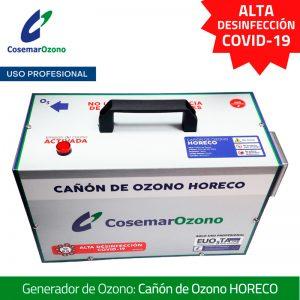 Cañón de Ozono HORECO (Alta desinfección COVID-19) ideal para restaurantes y hoteles