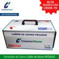 Cañón de Ozono PEGASUS - generador de ozono uso profesional, alta desinfección