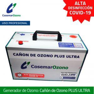 Cañon de Ozono Plus Ultra, alta desinfección USO PROFESIONAL