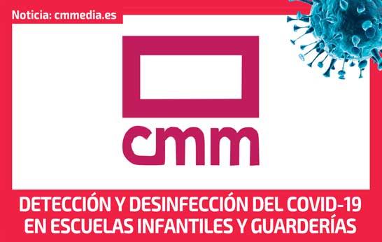 Detección y desinfección del COVID-19 en escuelas infantiles y GUARDERÍAS