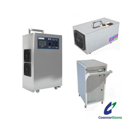 generadores de ozono portátiles