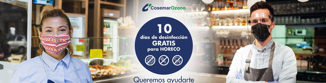 Promoción Desinfección HORECO - Campaña 10 días GRATIS, hoteles, restaurantes y otros establecimientos HORECO